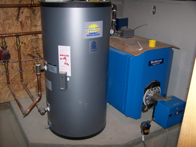 Buderus Boiler & Megga-Stor Water Heater